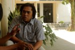 Inilah tampang serius dari ketua HIMPASIKOM Huzain Aziz KBH